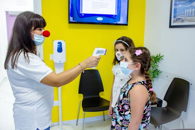 Studio Dentistico Lionti Accoglienza bimbi